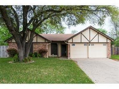 Watauga Single Family Home Active Option Contract: 6051 Cedardale Court