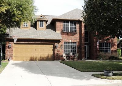 Saginaw Single Family Home Active Option Contract: 820 Kingsbrook Lane