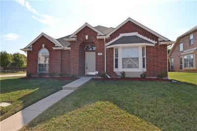 Lewisville Single Family Home Active Option Contract: 1224 Whitehorse Drive