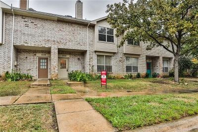 Lewisville Townhouse Active Option Contract: 1520 Park Lane
