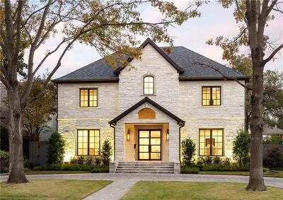 Dallas, Highland Park, University Park Single Family Home For Sale: 7642 Bryn Mawr Drive