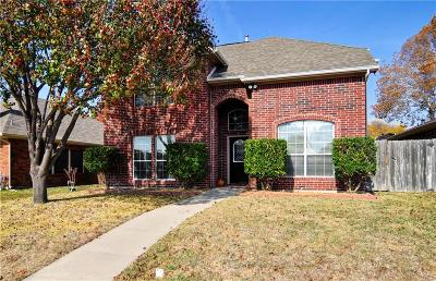 Allen Single Family Home For Sale: 629 Spring Valley Road