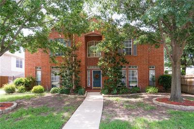 Keller Single Family Home For Sale: 1633 Pleasant Run