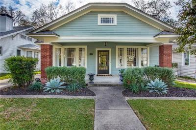 Dallas Single Family Home For Sale: 711 Dumont Street