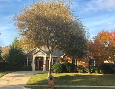 Keller Single Family Home Active Option Contract: 1307 Limestone Creek Drive