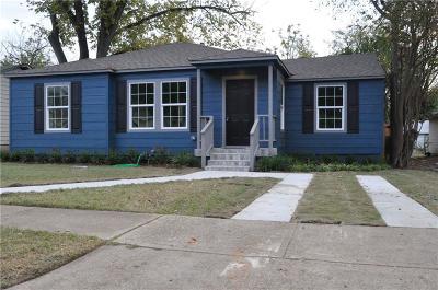 Dallas Single Family Home For Sale: 4434 Newmore Avenue