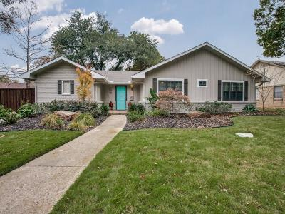 Richardson Single Family Home Active Option Contract: 829 Teakwood Place