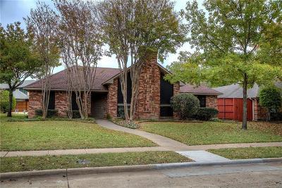 Richardson Single Family Home Active Option Contract: 2808 Foxcreek Drive