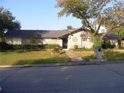 Farmers Branch Single Family Home For Sale: 14407 Tanglewood Drive