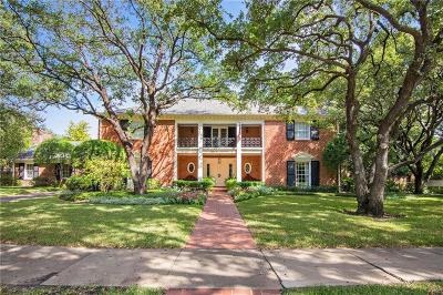 Highland Park Single Family Home For Sale: 4200 Belclaire Avenue