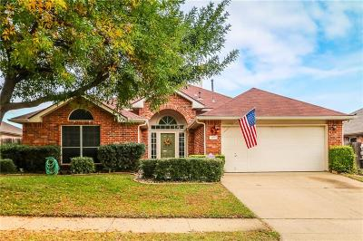 Grand Prairie Single Family Home Active Option Contract: 2760 Garden Grove Road