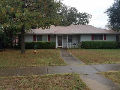 Irving Single Family Home Active Option Contract: 1244 Fair Oaks Drive