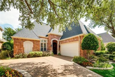 Plano Single Family Home Active Option Contract: 5057 Bridge Creek Drive