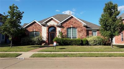 Allen Single Family Home For Sale: 816 Cascades Drive