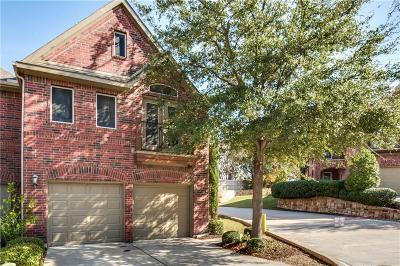 Mckinney Townhouse For Sale: 7204 Verdi Way