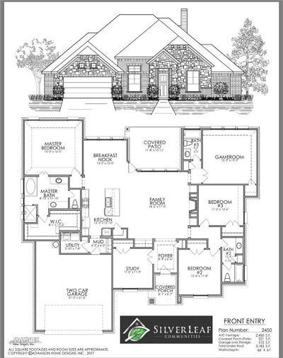 Weatherford Single Family Home For Sale: 2025 Vanderbilt Drive