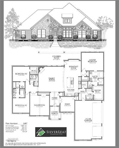 Weatherford Single Family Home For Sale: 2021 Vanderbilt Drive
