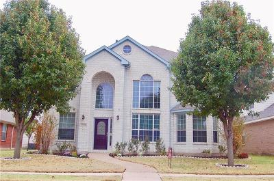 Allen Single Family Home For Sale: 1728 Mineral Springs Drive
