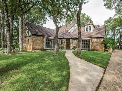 Fort Worth Single Family Home For Sale: 801 Oakmont Lane N