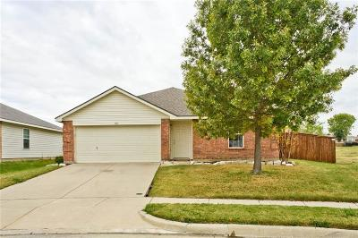 Haslet Single Family Home Active Option Contract: 1113 Eagle Claw Drive