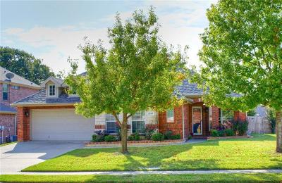 Mansfield Single Family Home Active Option Contract: 2507 Goodnight Trail