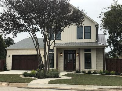 Grapevine Single Family Home Active Option Contract: 1227 Hilltop Drive