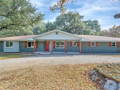 Weatherford Single Family Home For Sale: 1614 Old Dicey Road