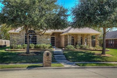 Rockwall Single Family Home Active Option Contract: 1450 Red Wolf Drive