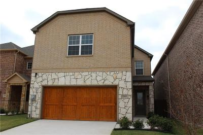 Carrollton Single Family Home For Sale: 2313 Chrystal Falls Drive
