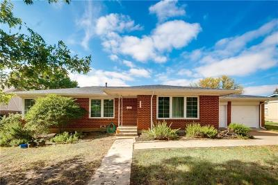 Richland Hills Single Family Home Active Option Contract: 3523 Scruggs Drive