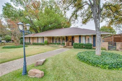 Dallas Single Family Home For Sale: 7364 Fieldgate Drive