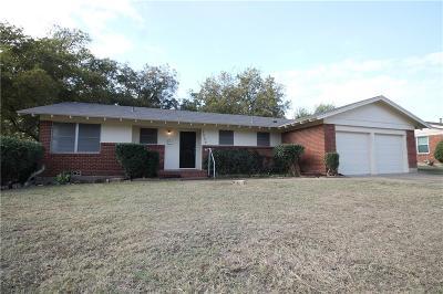 Richland Hills Single Family Home Active Option Contract: 3549 Granada Drive