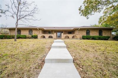 Grand Prairie Single Family Home Active Option Contract: 1609 Lancelot Circle