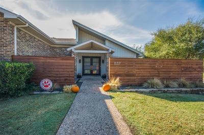 Richardson Single Family Home For Sale: 1137 Bull Run