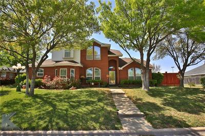 Abilene Single Family Home For Sale: 32 Harbour Town