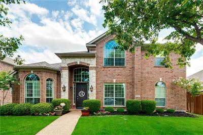 Frisco Single Family Home Active Option Contract: 9761 Butterfly Trail