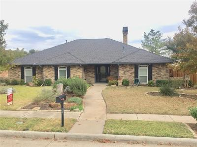 Plano Single Family Home Active Option Contract: 4008 Riverview Drive