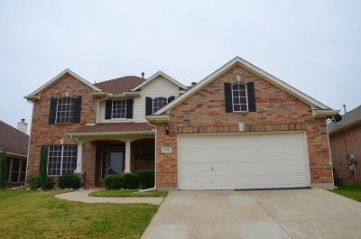 Grand Prairie Single Family Home For Sale: 2731 Sedgemoor Drive