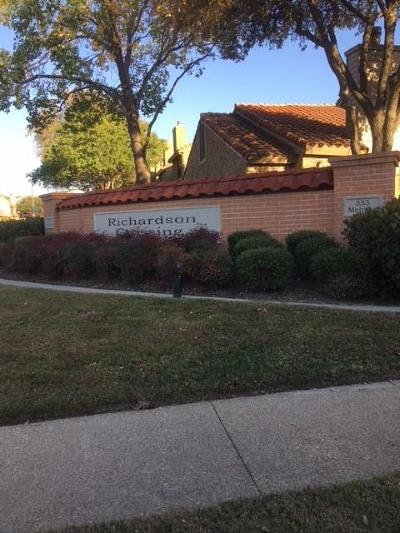 Richardson  Residential Lease For Lease: 333 Melrose Drive #14C