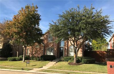 Allen Single Family Home Active Option Contract: 1908 Deercreek Drive