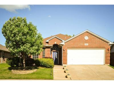 Fort Worth TX Single Family Home Active Option Contract: $205,900