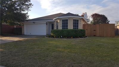 Saginaw Single Family Home Active Option Contract: 312 Shea Lane