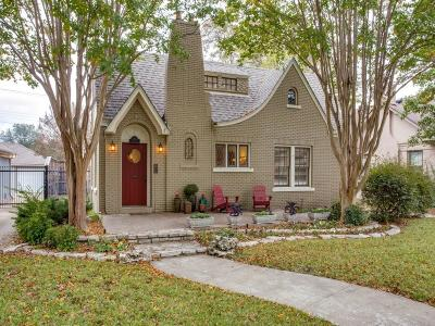 Dallas Single Family Home For Sale: 710 Nesbitt Drive