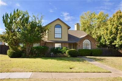 Lewisville Single Family Home Active Option Contract: 2046 Biscayne Drive