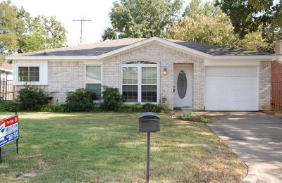 Mansfield Single Family Home Active Option Contract: 1103 Glen Creek Drive