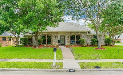 Single Family Home For Sale: 6400 Bradley Lane