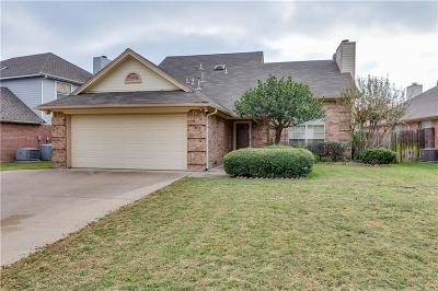 Grand Prairie Single Family Home Active Option Contract: 2863 Linden Lane