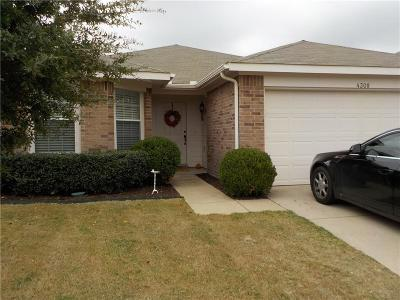 Single Family Home For Sale: 4308 Tranquility Drive