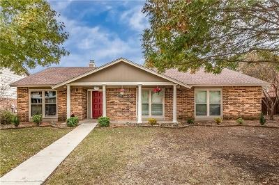 Dallas County, Denton County Single Family Home Active Option Contract: 1738 Hartford Drive
