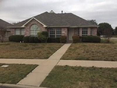 Frisco Single Family Home Active Option Contract: 10080 Queens Road